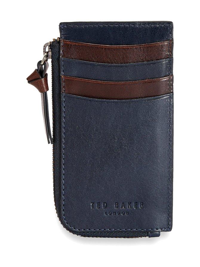 Bombay Leather Zip Up Cardholder -korttikotelo