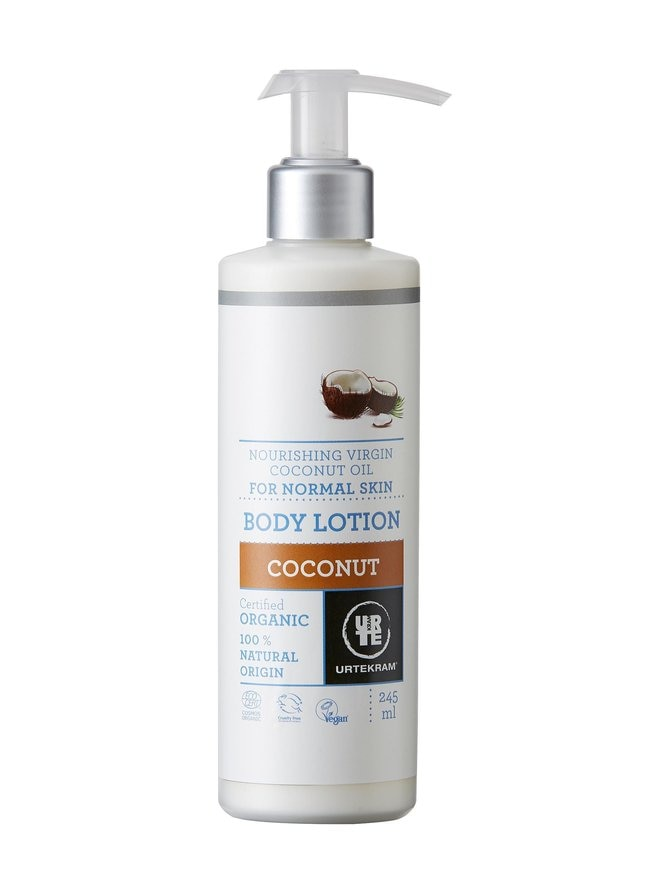 Organic Coconut Body Lotion -vartalovoide 245 ml