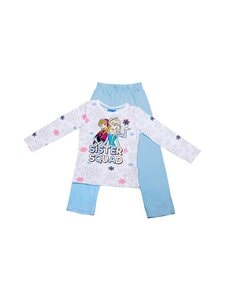 Frozen - Pyjama - FRZ-3-2164/9012+9600 WHITE AOP/BLUE BELL | Stockmann