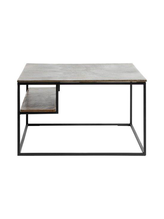 Muubs - Hitch-sohvapöytä 65 x 40 x 65 cm - BLACK/ANTIQUE BRASS   Stockmann - photo 1