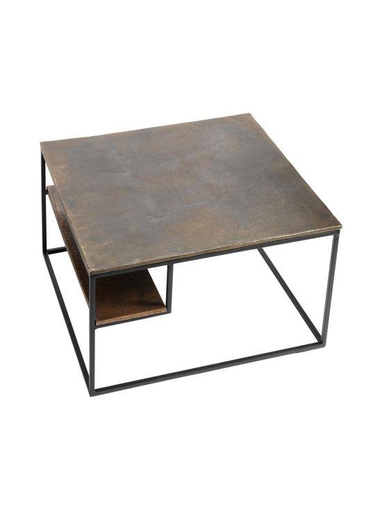 Muubs - Hitch-sohvapöytä 65 x 40 x 65 cm - BLACK/ANTIQUE BRASS   Stockmann - photo 2