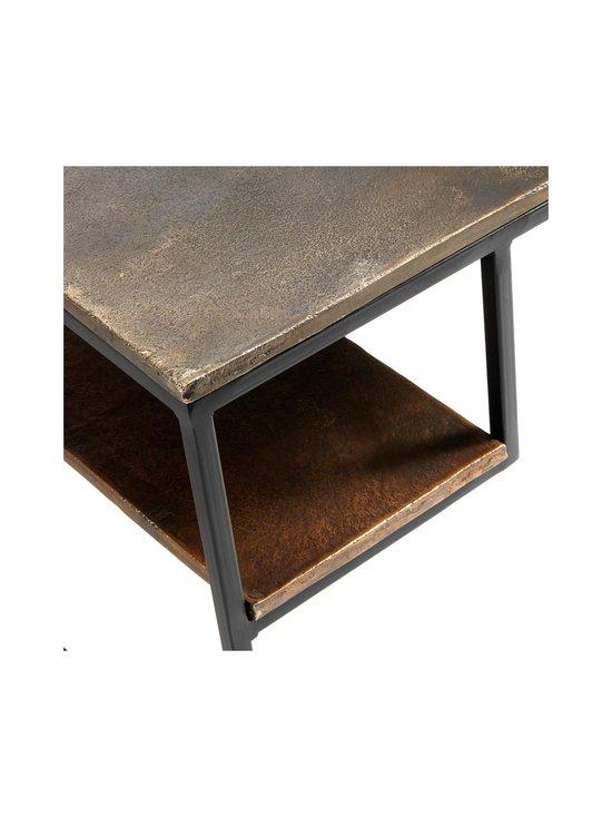 Muubs - Hitch-sohvapöytä 65 x 40 x 65 cm - BLACK/ANTIQUE BRASS   Stockmann - photo 3