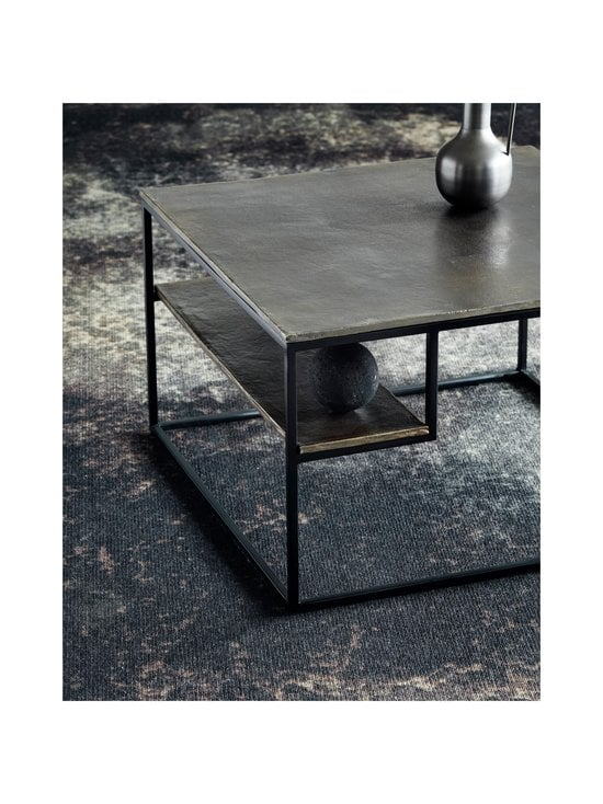 Muubs - Hitch-sohvapöytä 65 x 40 x 65 cm - BLACK/ANTIQUE BRASS   Stockmann - photo 4