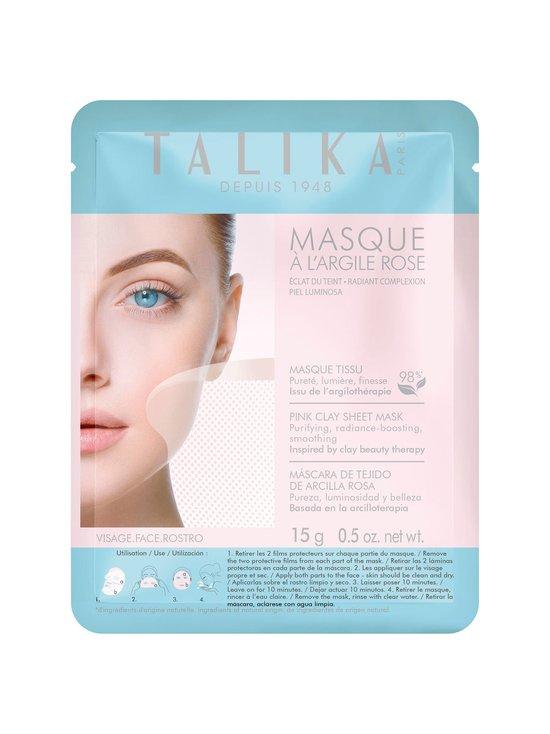 Talika - Pink Clay Sheet Mask -kasvonaamio 15 g - null | Stockmann - photo 1