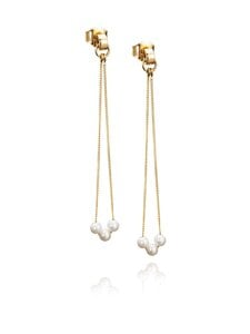 Efva Attling - My Little Pearl Earrings -korvakorut - GOLD | Stockmann