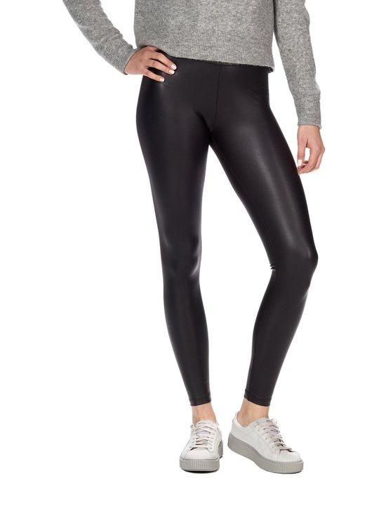 Pieces - PcNew Shiny -leggingsit - BLACK (MUSTA)   Stockmann - photo 1
