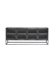 Muubs - 4-Door Sideboard Boston -kaappi - BLACK | Stockmann