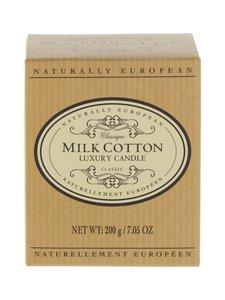 Naturally European - Naturally European Classique Milk Cotton Luxury -tuoksukynttilä - MILK COTTON | Stockmann