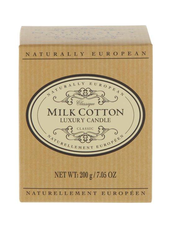 Naturally European - Naturally European Classique Milk Cotton Luxury -tuoksukynttilä - MILK COTTON | Stockmann - photo 1