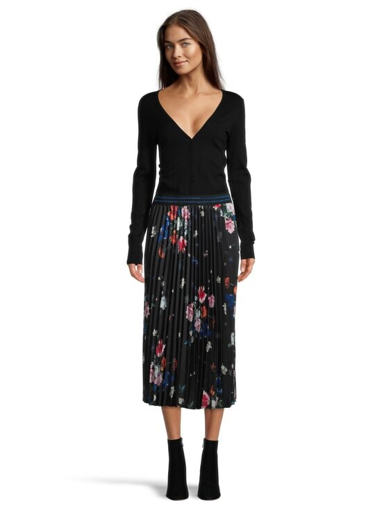 Ted Baker London - Leaann Sandalwood Pleated Skirt -hame - 00 BLACK | Stockmann - photo 2