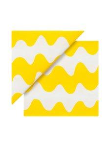 Marimekko - Lokki-servetti 33 x 33 cm, 50 kpl - KELTAINEN | Stockmann