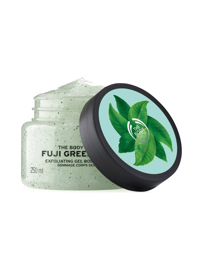 Fuji Green Tea Body Scrub -vartalokuorinta 250 ml