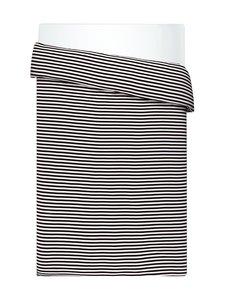 Marimekko - Tasaraita-pussilakana 150 x 210 cm - MUSTA/VALKOINEN | Stockmann
