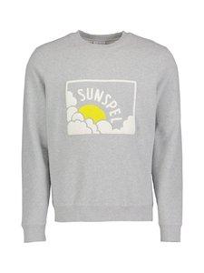 Sunspel - Loopback-collegepaita - GREY MELANGE | Stockmann