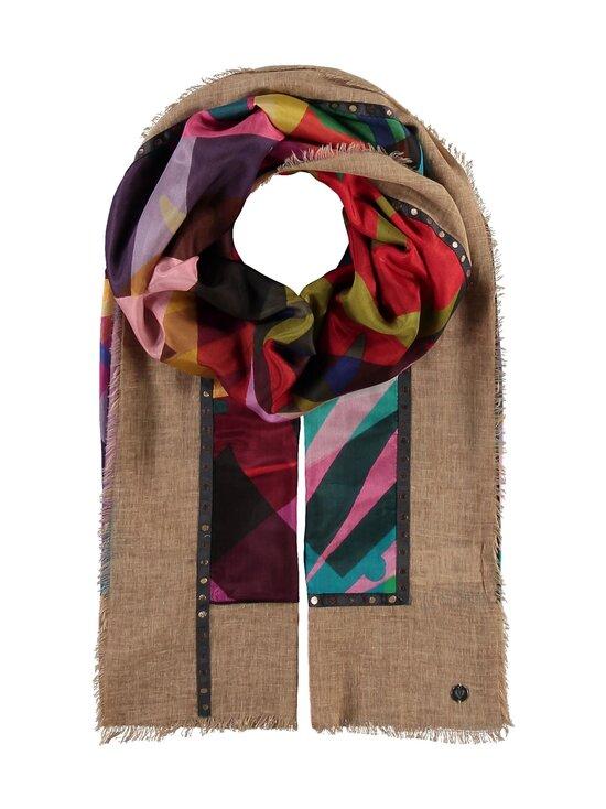 Fraas - Puuvilla-silkkihuivi - 180 CAMEL | Stockmann - photo 1