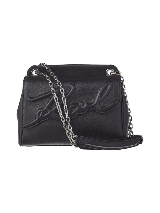 K/Signature Soft Medium Shoulder Bag -nahkalaukku