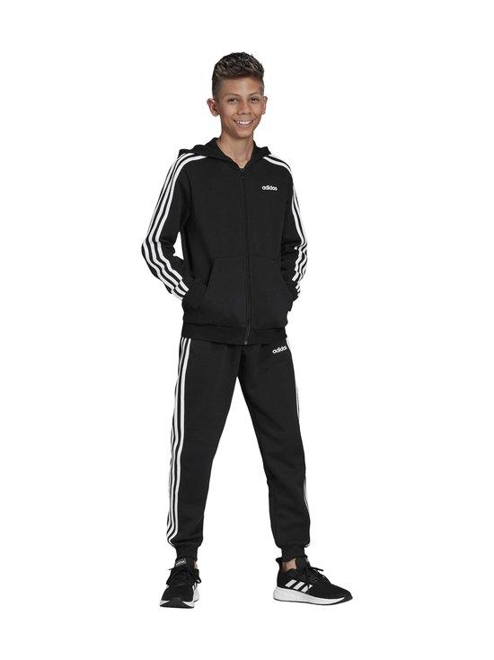 adidas Performance - Essentials 3 Stripes Hoodie -huppari - BLACK/WHITE | Stockmann - photo 10