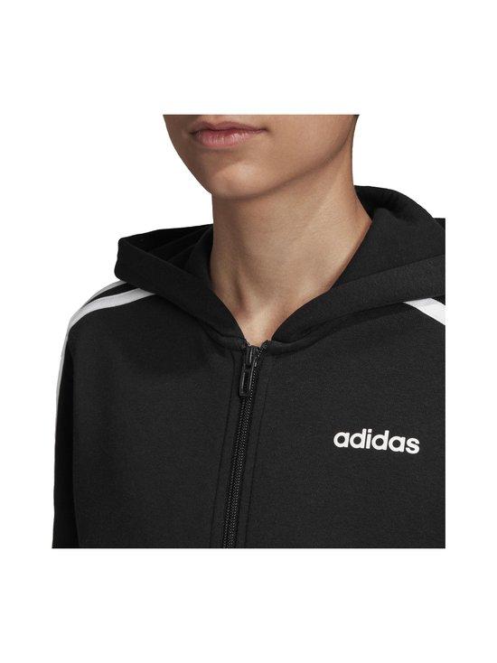 adidas Performance - Essentials 3 Stripes Hoodie -huppari - BLACK/WHITE | Stockmann - photo 8