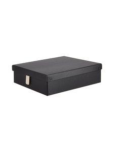 Bigso Box - Travis Shoe Care -säilytyslaatikko - GRAPHITE (TUMMANHARMAA) | Stockmann