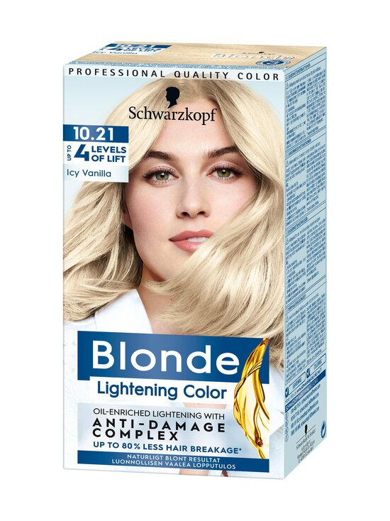 Schwarzkopf - Icy Vanilla Lightening Blonde 10.21 -vaalennusaine - NOCOL | Stockmann - photo 1