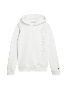 Calvin Klein Kids - Reflective Lines Logo Hoodie -huppari - YAF BRIGHT WHITE | Stockmann