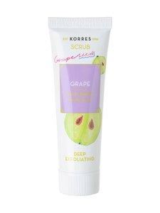 Korres - Grape Deep Exfoliating Scrub -kasvokuorinta 18 ml | Stockmann