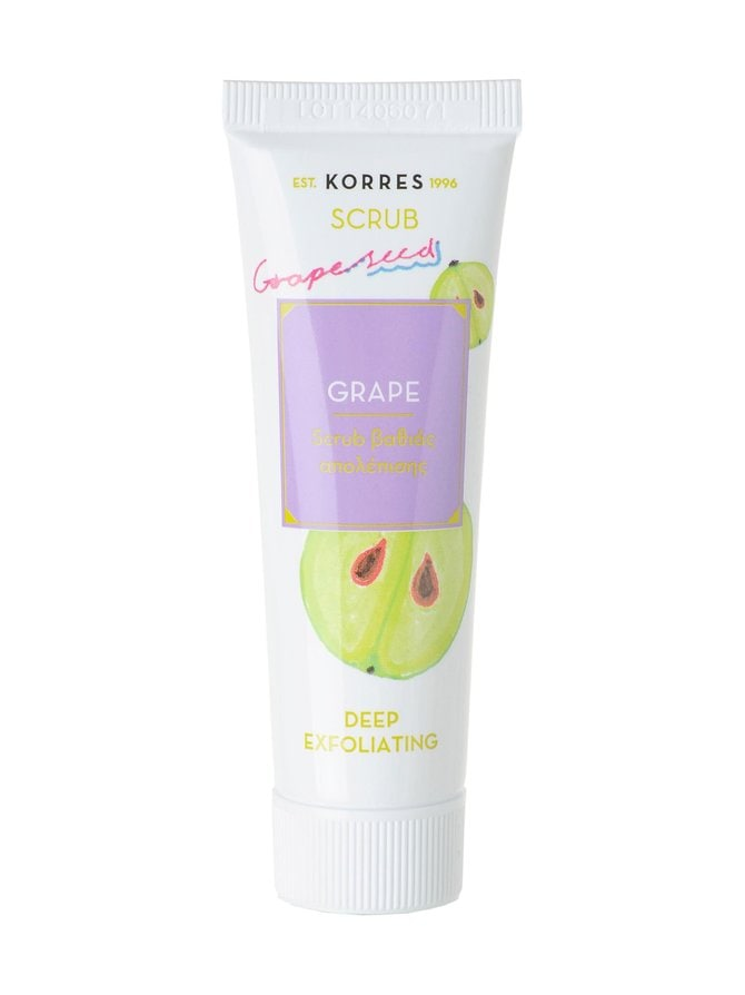 Grape Deep Exfoliating Scrub -kasvokuorinta 18 ml