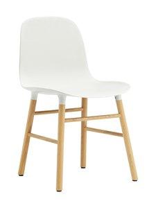 Normann Copenhagen - Form-tuoli - VALKOINEN/TAMMI   Stockmann