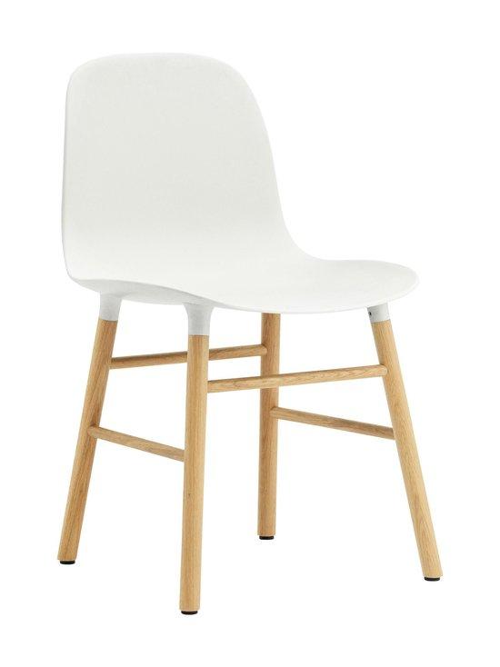 Normann Copenhagen - Form-tuoli - VALKOINEN/TAMMI | Stockmann - photo 1
