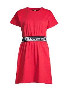 Karl Lagerfeld - Logo Tape T-shirt -mekko - 537 TANG RED   Stockmann