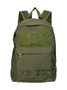 Kenzo - Canvas Kampus Tiger Backpack -reppu - 50 KHAKI | Stockmann