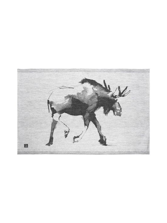 Lapuan Kankurit - Hirvi x Teemu Järvi -keittiöpyyhe 46 x 70 cm - 9 WHITE-BLACK | Stockmann - photo 1