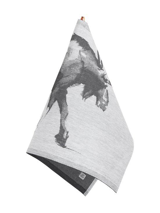 Lapuan Kankurit - Hirvi x Teemu Järvi -keittiöpyyhe 46 x 70 cm - 9 WHITE-BLACK | Stockmann - photo 2
