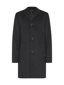 Tommy Hilfiger Tailored - Solid Overcoat -villakangastakki - P9Z CHARCOAL HEATHER | Stockmann