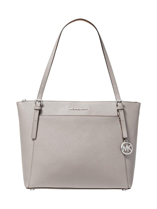 Michael Michael Kors - Voyager Tote -nahkalaukku - 081 PEARL GREY | Stockmann - photo 1