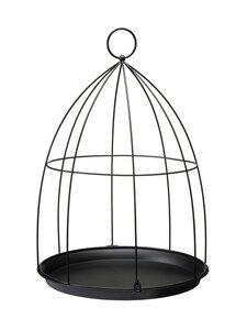 Wikholm Form - Birdcage Planter L -amppeli 40 x 59 cm - BLACK | Stockmann