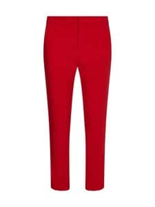Tommy Hilfiger - CORE SUITING SLIM PANT -housut - XLG PRIMARY RED   Stockmann