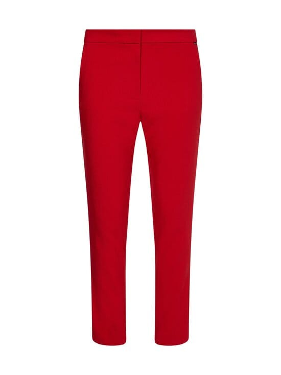 Tommy Hilfiger - CORE SUITING SLIM PANT -housut - XLG PRIMARY RED   Stockmann - photo 1