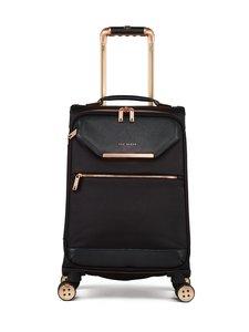 Ted Baker London - Albany Small 4 Wheel Trolley -matkalaukku - BLACK/ROSEGOLD | Stockmann