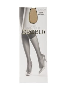 Oroblu - Jeune Sheer Knee-Highs 20 den -polvisukat - NUDE   Stockmann
