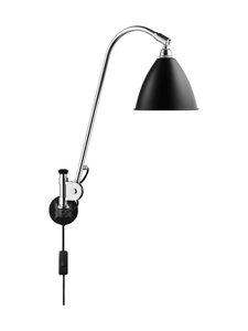 Gubi - Bestlite BL6 Wall Lamp -seinävalaisin - BLACK SEMI MATT | Stockmann