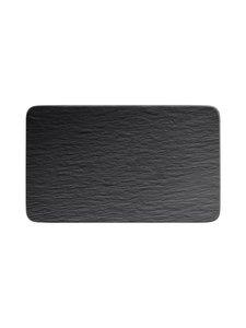 Villeroy & Boch - Manufacture Rock -lautanen 28 x 17 x 1 cm - BLACK | Stockmann