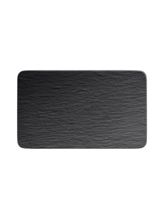 Villeroy & Boch - Manufacture Rock -lautanen 28 x 17 x 1 cm - BLACK | Stockmann - photo 1