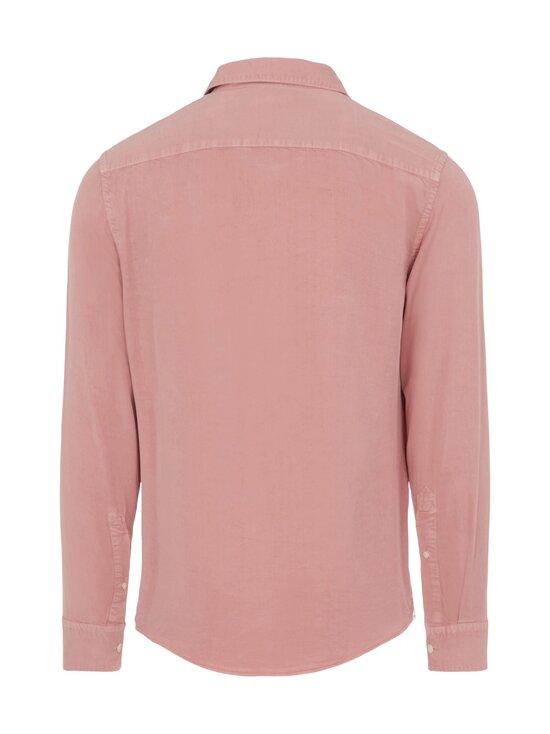 J.Lindeberg - Comfort Tencel Slim Shirt -kauluspaita - G020 ROSE COPPAR   Stockmann - photo 2