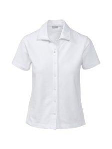 Boomerang - Lisa Piquet T-shirt -paita - 000 WHITE | Stockmann