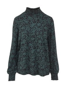 NOOM - Rafaela-paita - BLACK/GREEN FLOWER PRINT | Stockmann