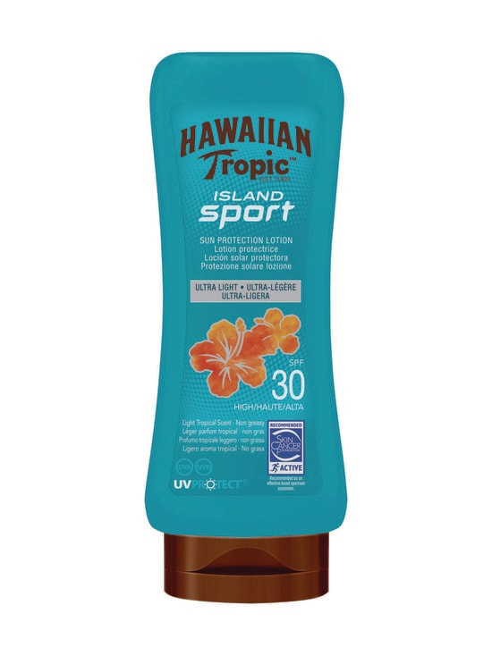 Hawaiian Tropic - Island Sport Lotion SPF 30 -aurinkovoide 180 ml - NOCOL   Stockmann - photo 1