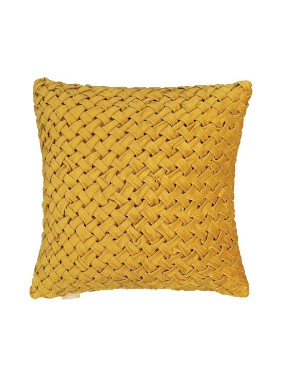 Villa Stockmann - Basket-tyynynpäällinen 45 x 45 cm - GOLD   Stockmann - photo 1