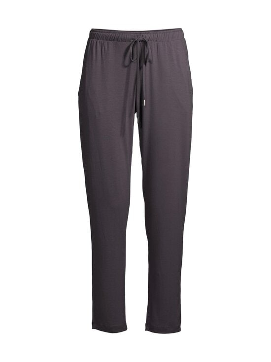 NOOM loungewear - Viola-pyjamahousut - DK.GREY SOLID | Stockmann - photo 1