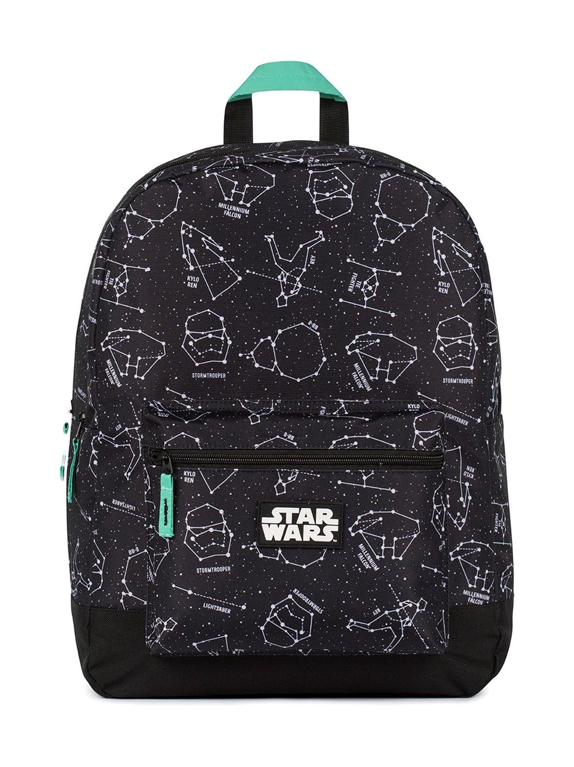 Black Pattern (musta) Star Wars Star Wars -reppu 182STW703  0b2f0237c5